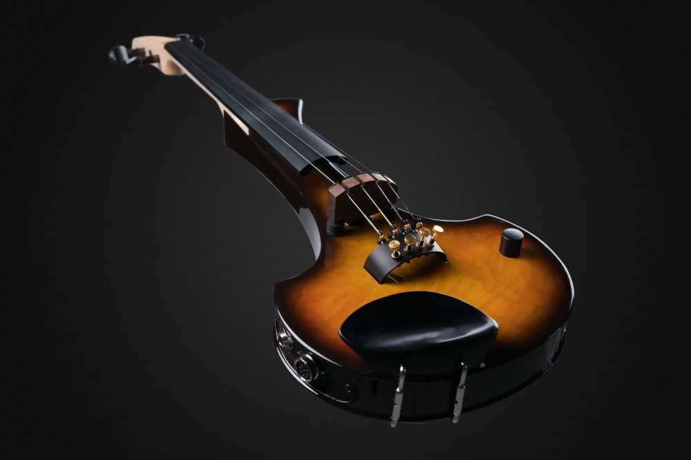 "Earphonic ""Occhietto"" Tobacco Burst! - Cantini Electric Violins"