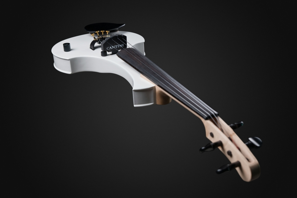 Earphonic White - Cantini Electric Violins